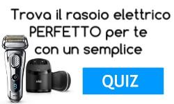 Quiz per la scelta del rasoio elettrico perfetto per te