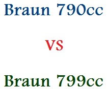Differenze Braun 790cc e Braun 799cc