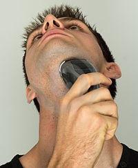 Come radere il collo con un rasoio elettrico