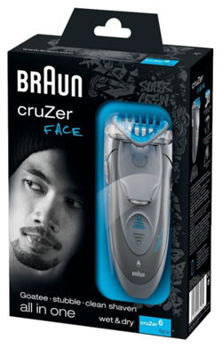 Braun Cruzer 6 Face - scatola