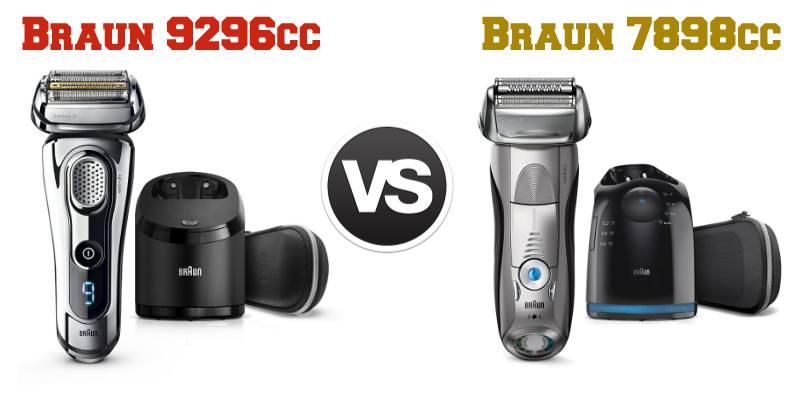 Confronto Braun 9296cc e Braun 7898cc