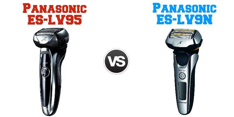 Confronto Panasonic ES-LV95 e Panasonic ES-LV9N