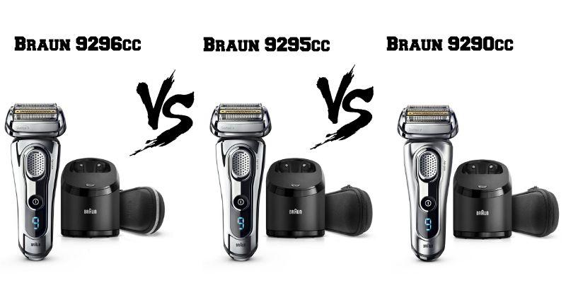 Confronto tra Braun 9296cc, 9295cc e 9290cc