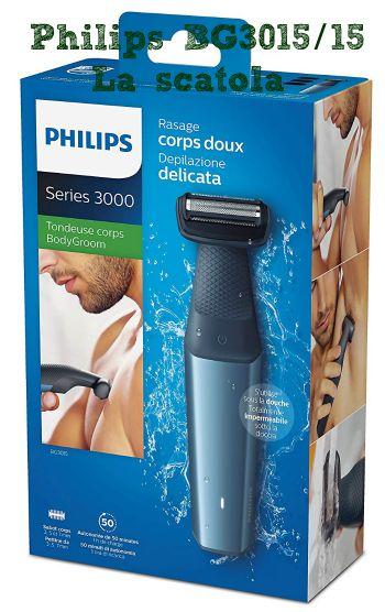Recensione Philips BG3015 - La scatola