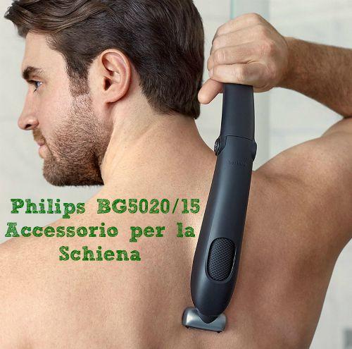 Recensione Philips BG5020 /15 accessorio per la schiena