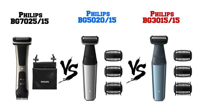 Confronto Tra Philips BG7025, BG5020 e BG3015